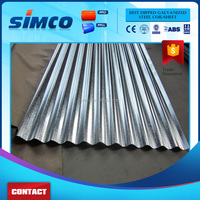 Zinc Coated Corrugated Steel Sheet for Roofing