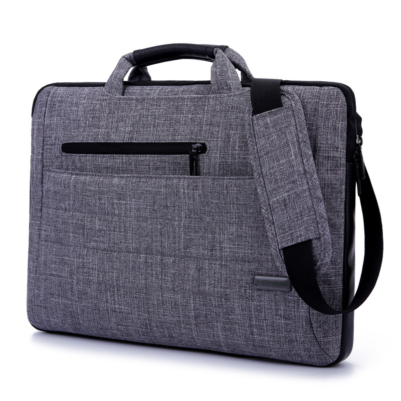 15.6-Inch Multi-functional Suit Fabric Portable Laptop Sleeve Case Bag for Laptop, Tablet, Macbook, Notebook
