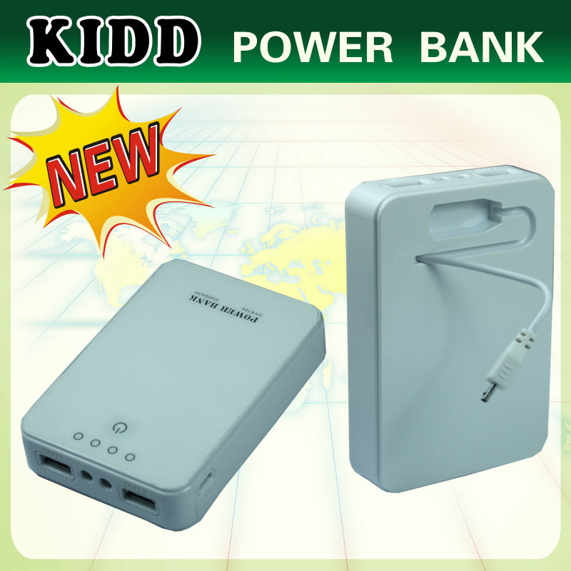 High quality 5v 2a dual usb portable charger 8800mah for tablet pc, smart phone