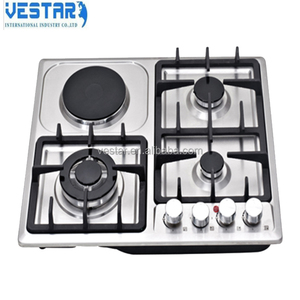kitchen appliance 5 burners gas stoves /cast iron gas ring burners/gas hob
