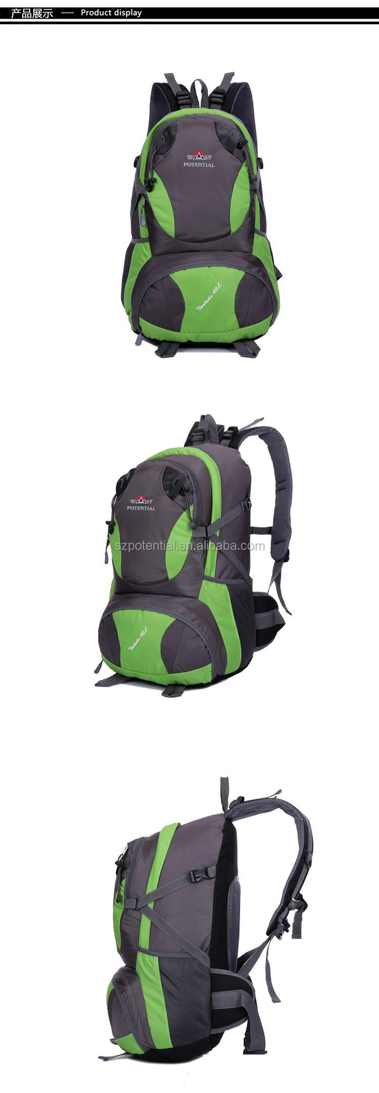 Durable nylon material high quality cheap waterproof backpack outdoor