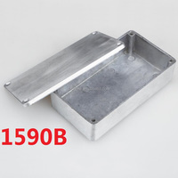Manufacturer 112x60x31mm 1590B Style Aluminum Stomp Box Effects Pedal Enclosure for Guitar