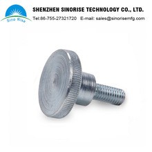 Shenzhen Supplier Machinery Spare Parts Customized High Quality CNC Machining Parts Knurled Cap Stainless Steel Screw