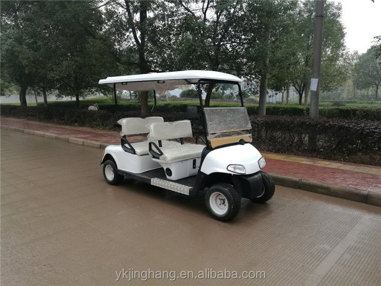 Electric two seater Sightseeing club car electric garden golf cart accessories