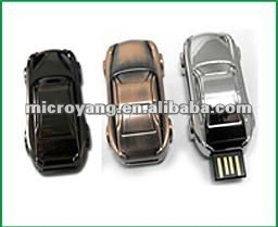 2014 metal Car USB FLASH DRIVE/USB flash disk/2G with key chain