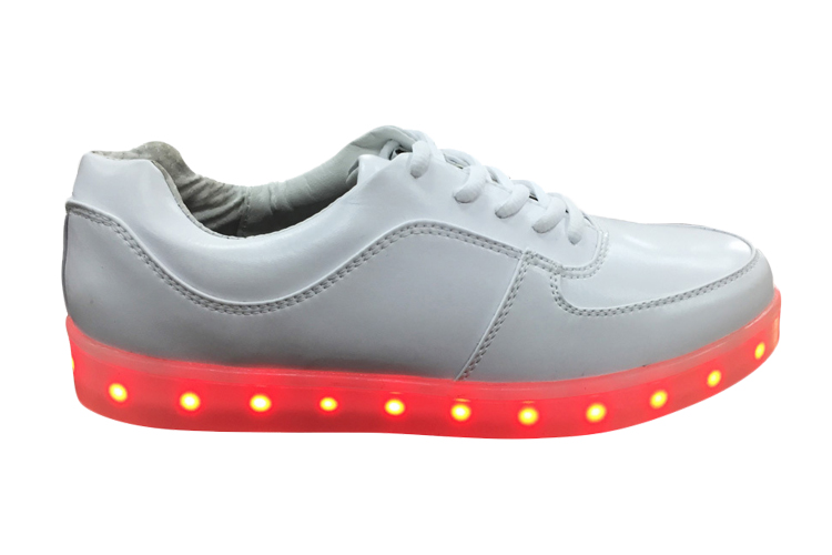 Student fashion led fluorescent sports shoes female