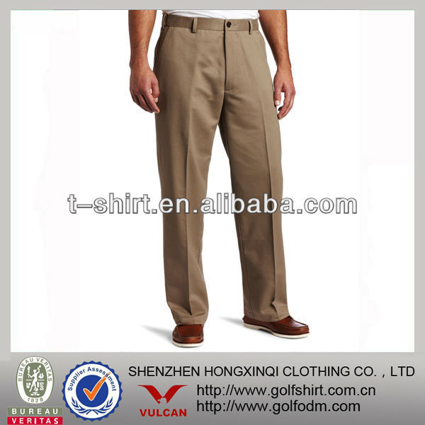 mens long chino pants manufacture