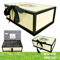 WT-PBX-398 Decorative Handmade Paper Gift Boxes Packaging