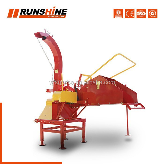 Tested Large Factory Custom Logo Farm Tree Branch Log Shredder