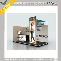 Modular exhibition display booth