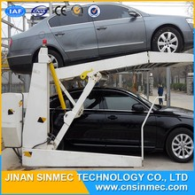 Hydraulic car lift smart car parking system T