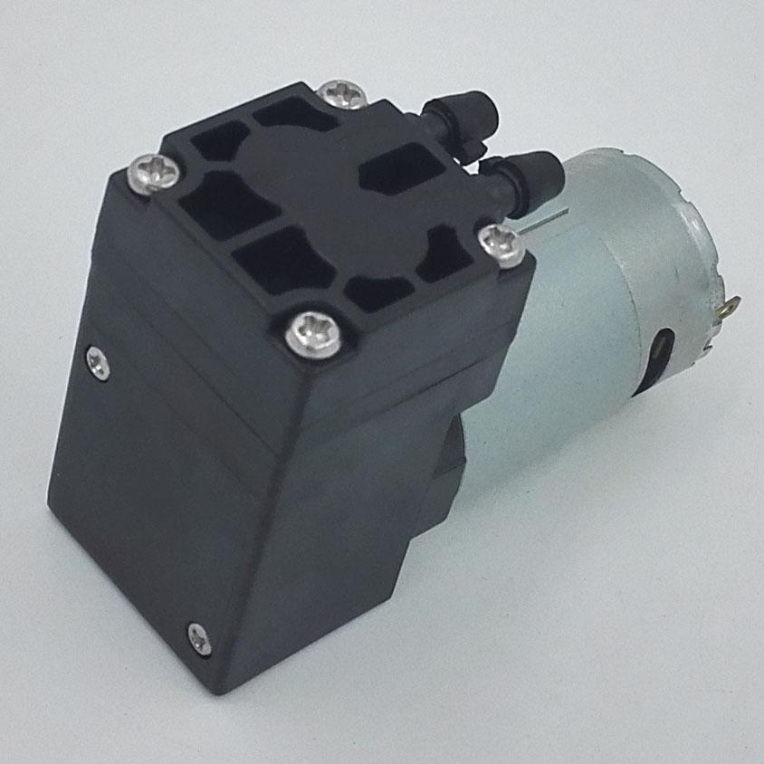 Rohs Certification Low Voltage Grey 12vdc Diaphragm Pump With Fiber