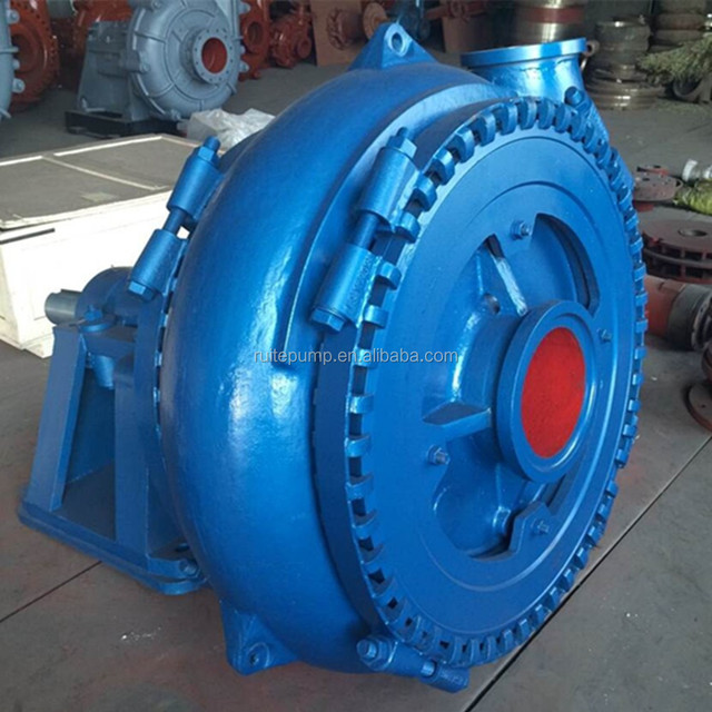 gravel and sand centrifugal pump for large particles