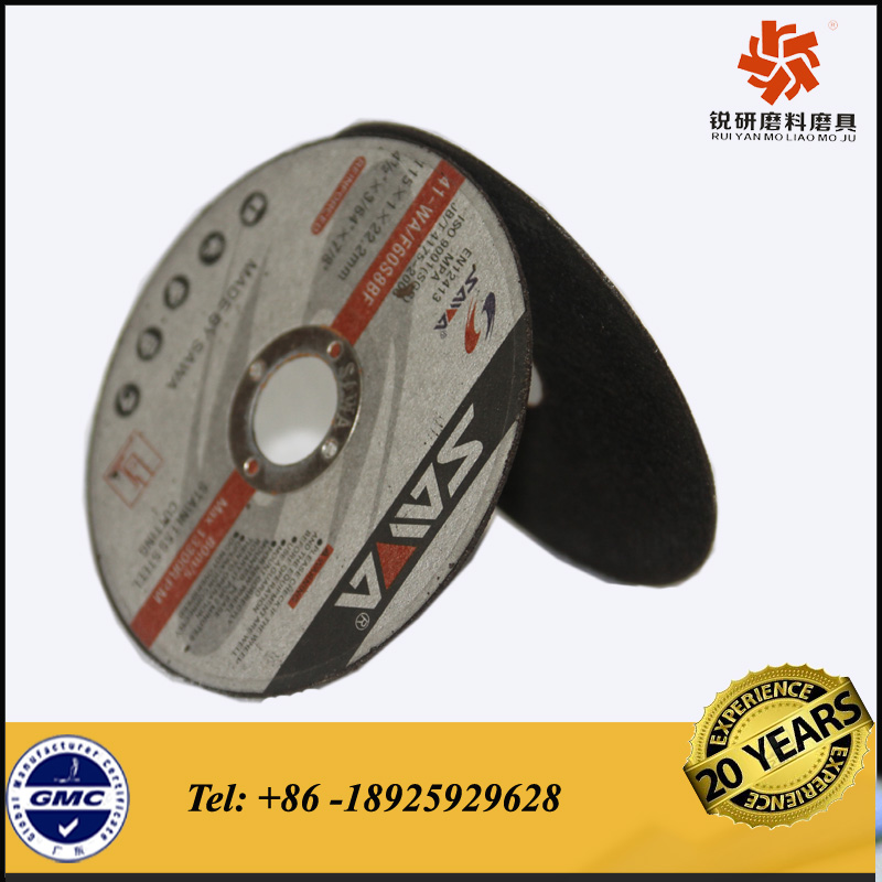 High quality abrasive metal cutting disc