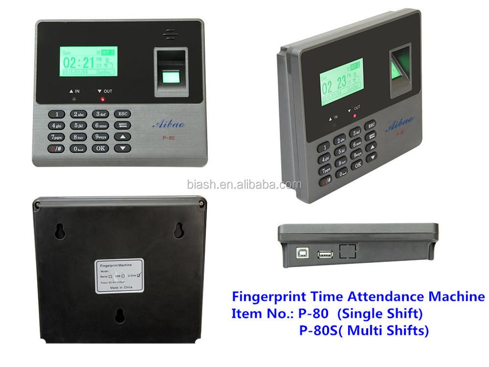 biometric punching machine