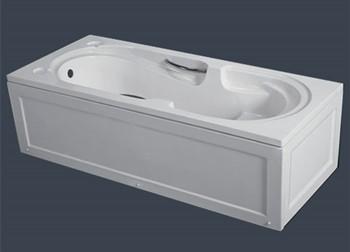 Hot design panels acrylic bathtub with handles for indoor soaking
