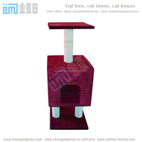 GMT8174 Tree house for cheap cats climbers cat bed furniture from factory