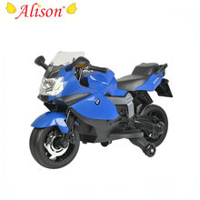 Cool BMW design high quality plastic electric battery charger motorcycle for kids