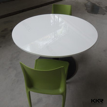 Round coffee shop table and chairs , dining table designs four chairs