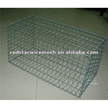 rock filled gabion baskets