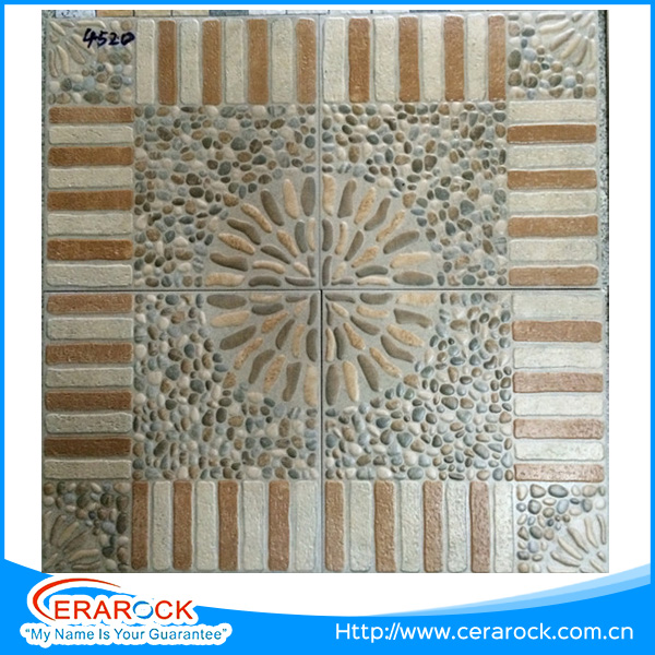 Elegant Design 3D Digital Inkjet Floor Tiles,4 colors