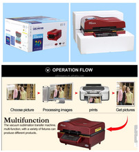 New product iphone 6 sublimation case 3d sublimation vacuum heat transfer printing machine