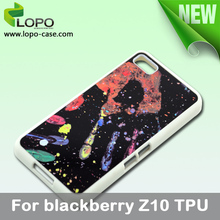 NEW blank Sublimation Case for Blackberry Z10, TPU material