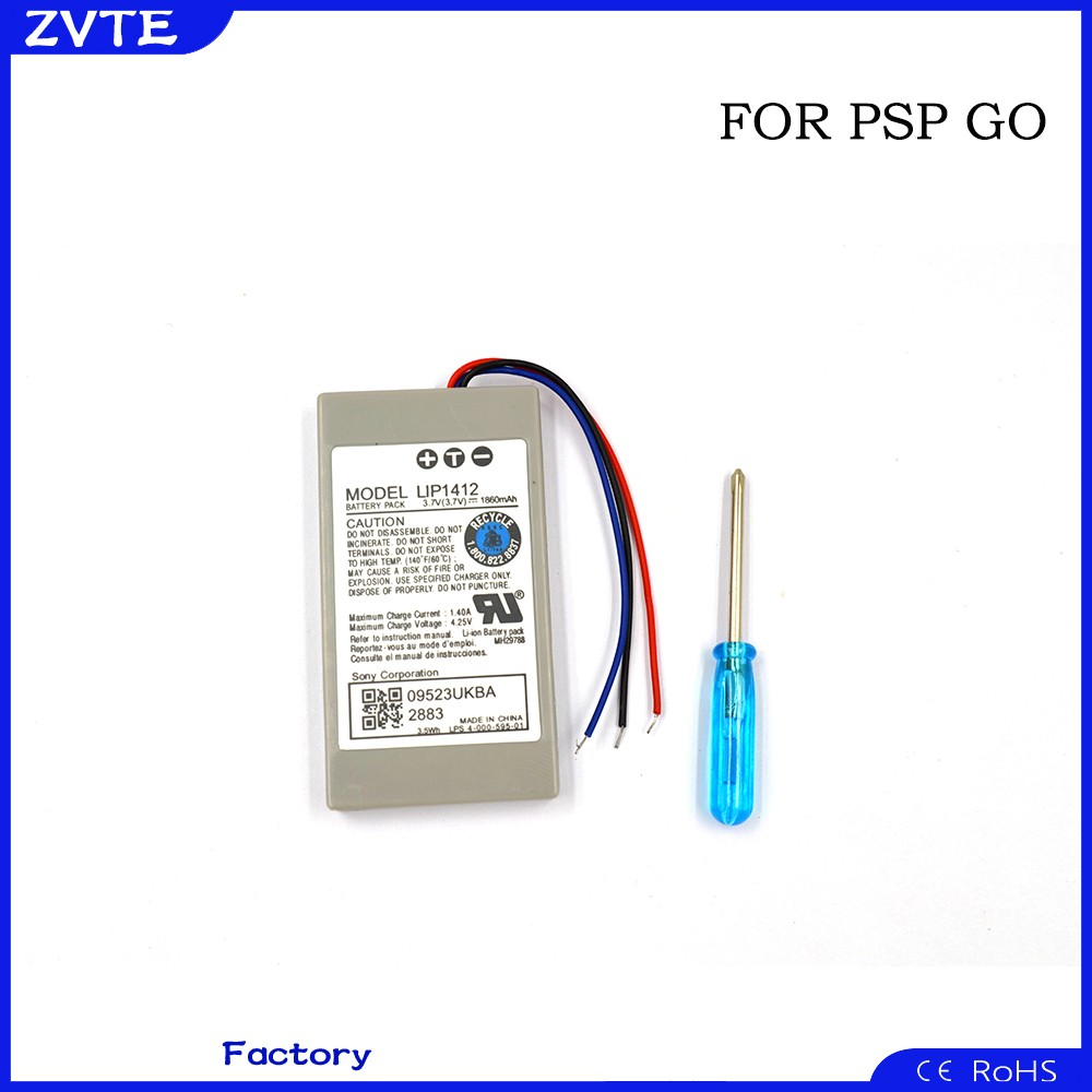 930 mah and 1860mAH capacity directly rechargeable battery for psp go