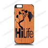 3D laser engraving cell phone case for iphone 4 cover.