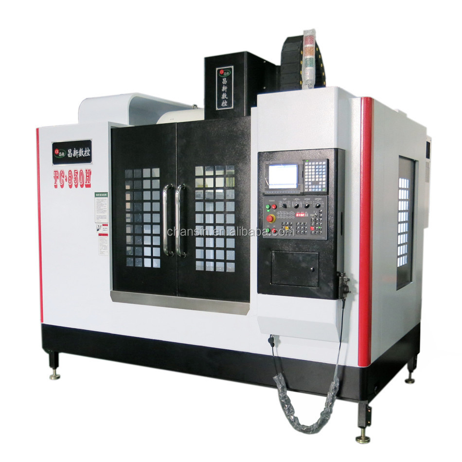 cnc milling machine 5 axis /cnc router 4 axis/cnc machine price list vmc-850