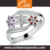 Wholesale Factory Direct Supply Silver Ring Unique Silver Ring Unusual Navratna Silver Ring Price In India
