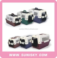 IATA standard plastic pet carrier