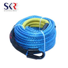 12 Strand Rope Braided Dyneema Winch With Hook