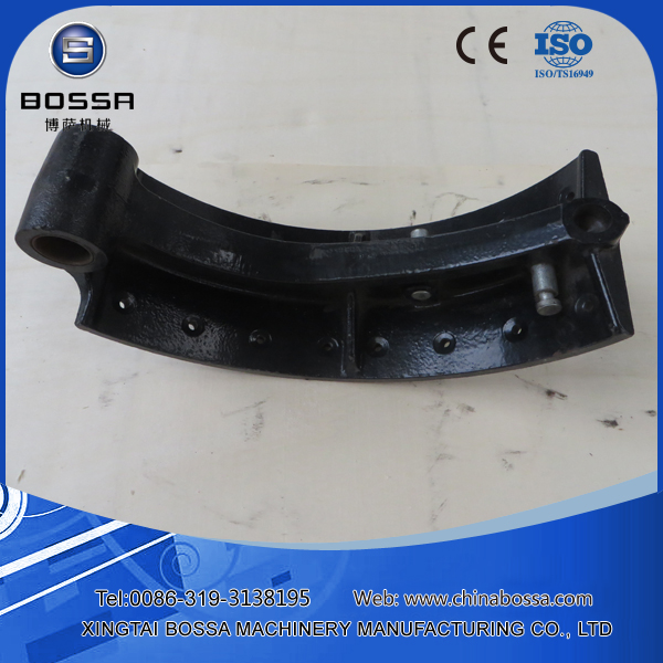 Tractor brake shoe chassis parts cast iron brake shoe