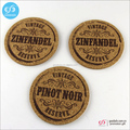 2016 hot selling newest product cheap promotional gift blank cork coaster set
