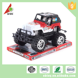 China cheap children miniature plastic inertia diecast toys