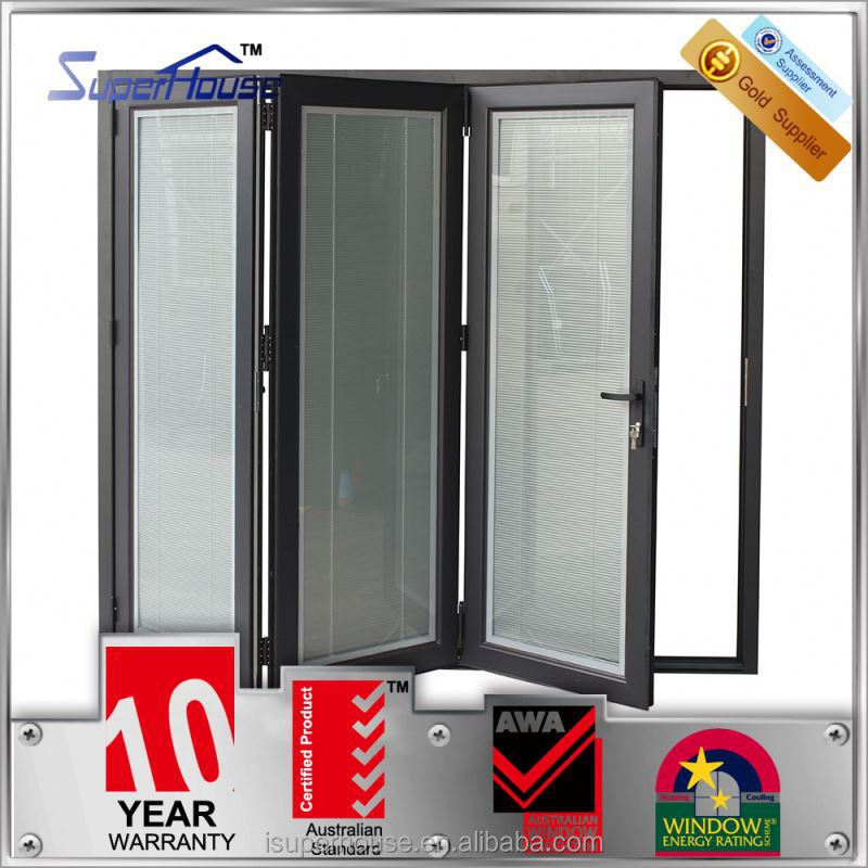 Australian glass folding door manufacturer in China