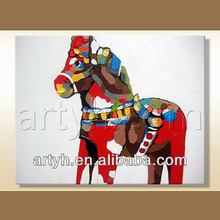 New arrival abstract painting of horse