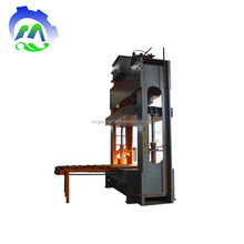 Assembled frame wood cold press machine with solid cylinder