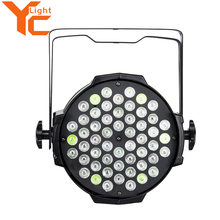 Good quality high lumen output dmx 54x3w rgbw led par 64 light for stage use