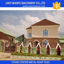 0.4mm stone coated metal roofing tile