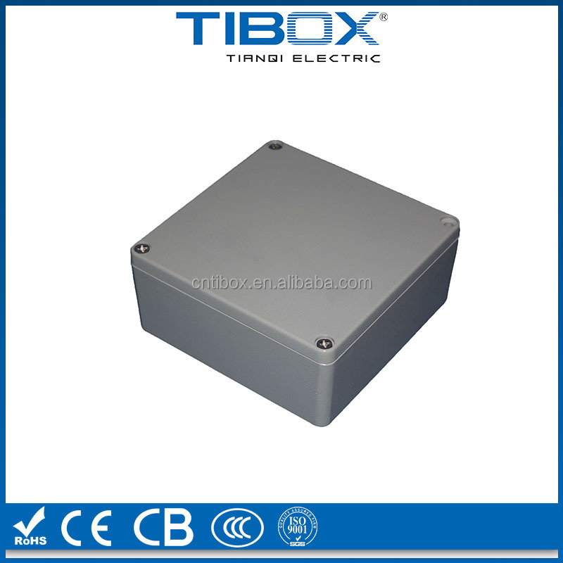 aluminum waterproof electronic enclosure/aluminum box enclosure case