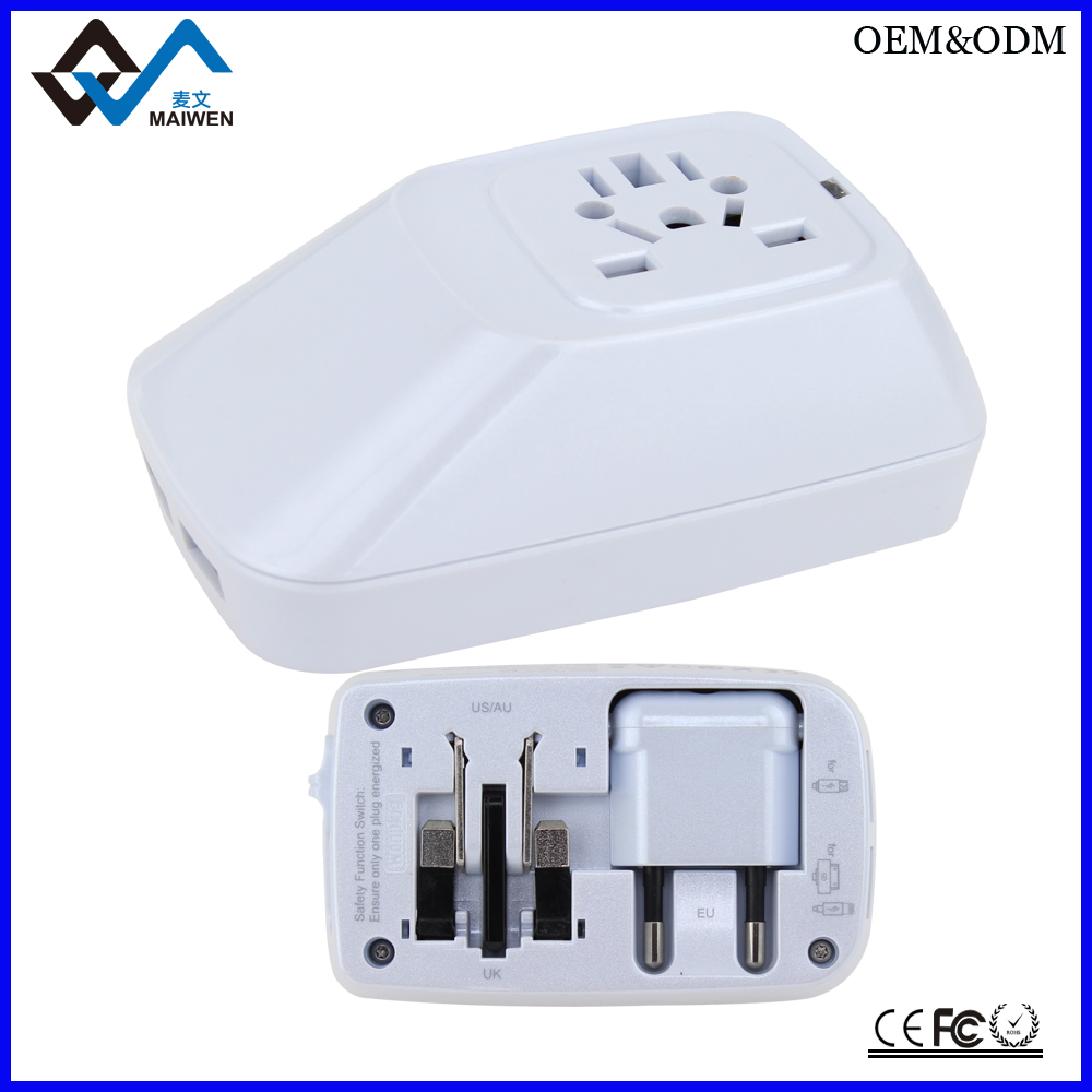 2014 Newest!Best Selling mobile phone accessories Dual USB travel charger