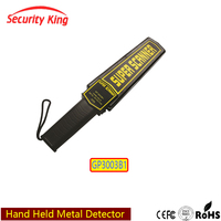 2016 Hand Held Security Gold Metal Detector Scanner GP3003B1