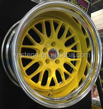 20x8.5J 20x10j Rhino deep big lip car alloy wheel rim
