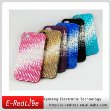gradual changing diamond cell mobile back cover