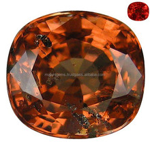 Unheated Color Change From Fanta Orange to Red Natural Malaya Garnet 2.36Ct Semi precious Gemstone