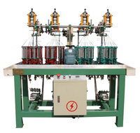 90-17spindle-4 high speed crochet elastic rope and cord knitting machine used for apparel