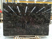 chinese marron emperador dark marble slabs