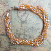 Fashion Women Necklace Beaded Necklace Fashion